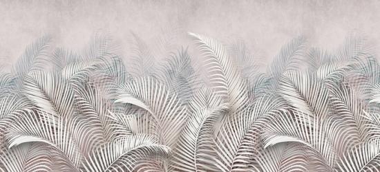 """Стеновая панель с фотопечатью """"Пальмовые листья"""""""