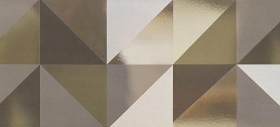 """Стеновая панель с фотопечатью """"Золотые квадраты"""""""