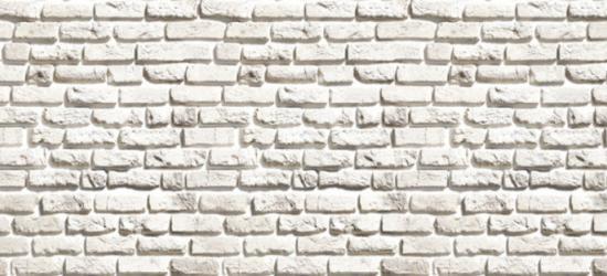"""Стеновая панель с фотопечатью SPL1 """"Белёный кирпич"""""""