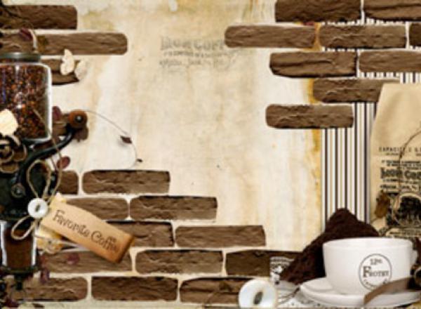 """Стеновая панель с фотопечатью SP085 """"Старая кладка"""""""