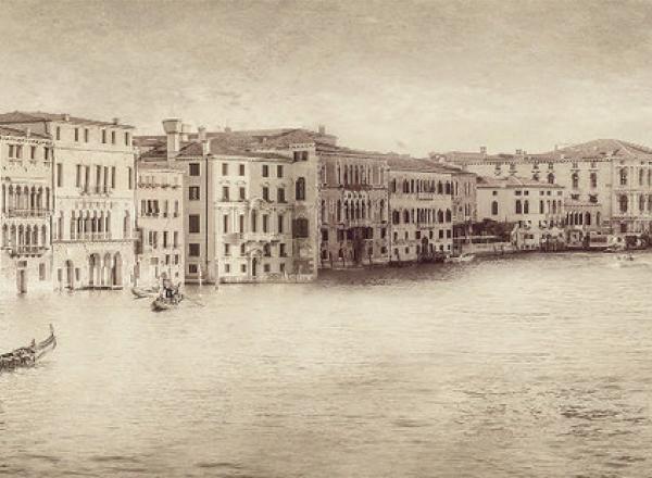 """Стеновая панель  с фотопечатью """"Старая Венеция"""""""