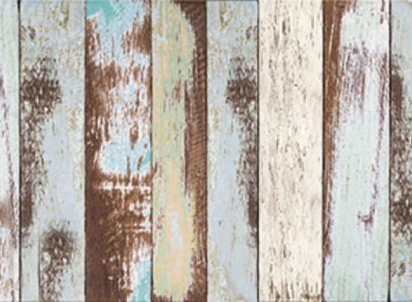 """Стеновая панель с фотопечатью """"Старый забор"""""""