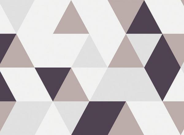"""Стеновая панель с фотопечатью """"Треугольники"""""""