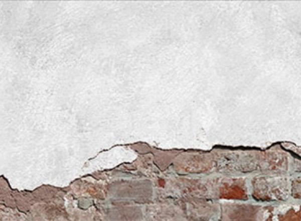 """Cтеновая панель с фотопечатью """"Отбитая штукатурка"""""""