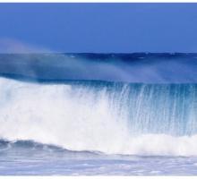 """Стеновая панель с фотопечатью """"Океанская волна"""""""