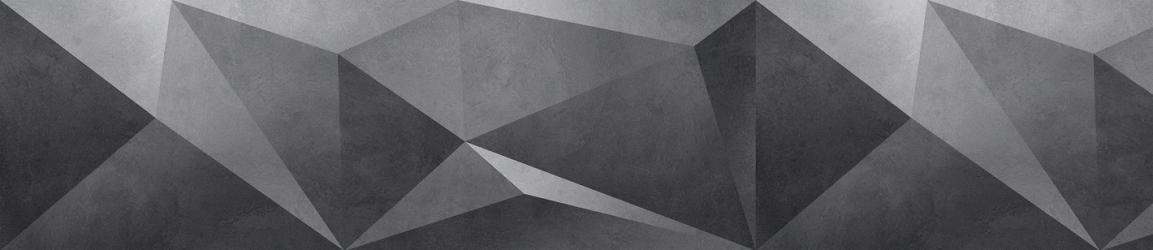 """Стеновая панель с фотопечатью """"Геометрия темно-серая"""""""