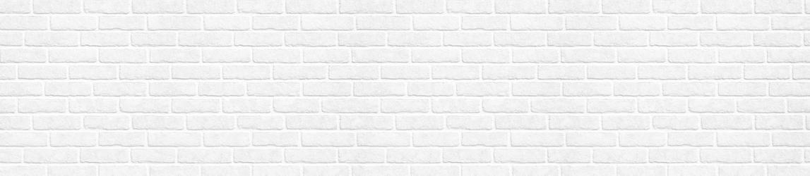 """Стеновая панель с фотопечатью FM36 """"Белый кирпич"""""""