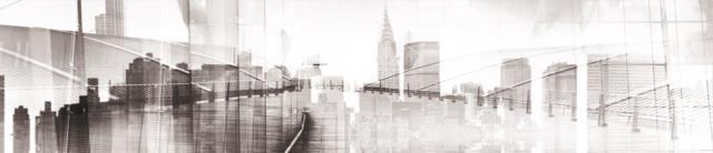 """Стеновая панель с фотопечатью """"Графика"""""""