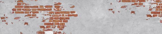 """Стеновая панель с фотопечатью """"Старая кирпичная стена"""""""