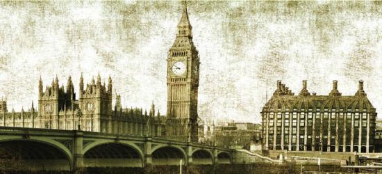 """Стеновая панель  с фотопечатью """"Старый Лондон"""""""