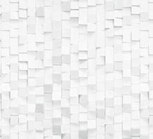 """Стеновая панель с фотопечатью """"Белые кубики"""""""