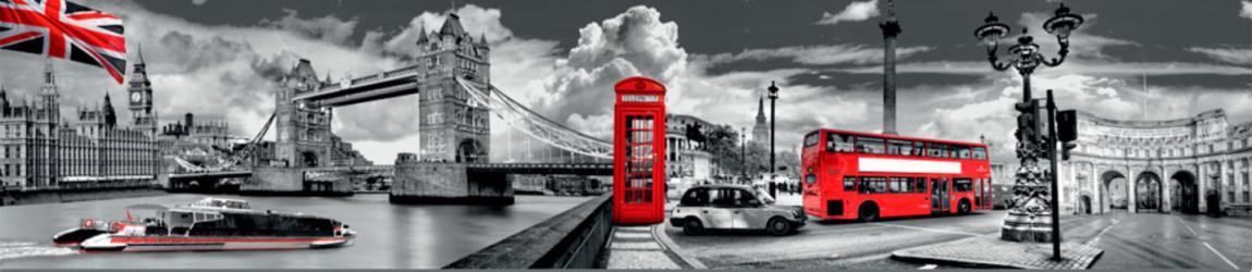 """Стеновая панель с фотопечатью """"Лондон"""""""