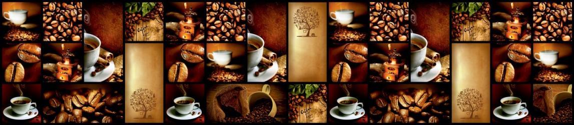 """Стеновая панель с фотопечатью F04 """"Кофейное дерево"""""""