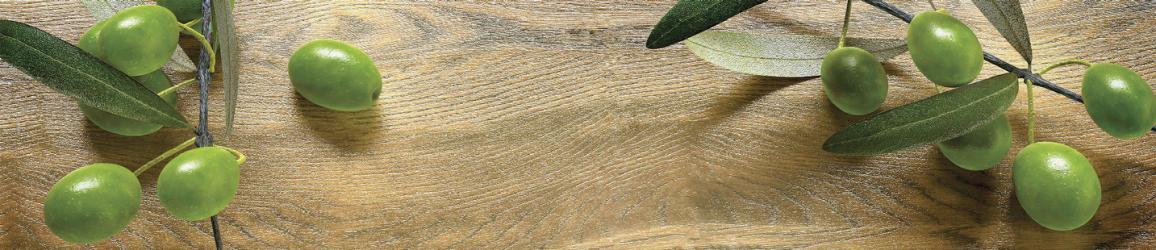 """Стеновая панель с фотопечатью SP180 """"Оливки на столе"""""""