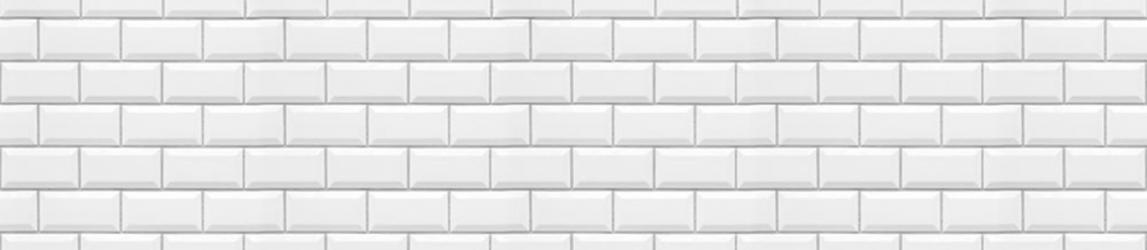 """Стеновая панель с фотопечатью """"Белый кабанчик"""""""
