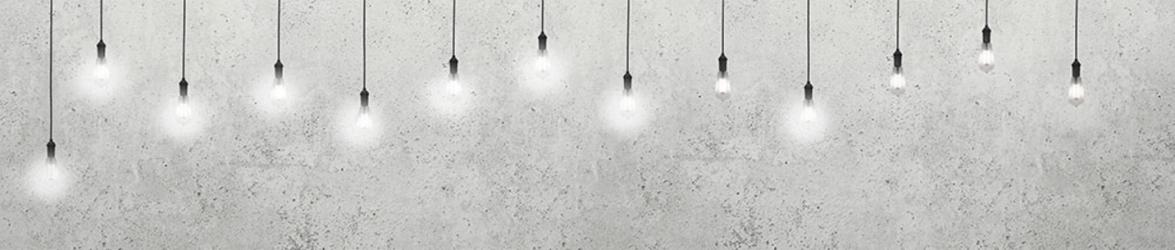 """Стеновая панель с фотопечатью """"Лампы"""""""